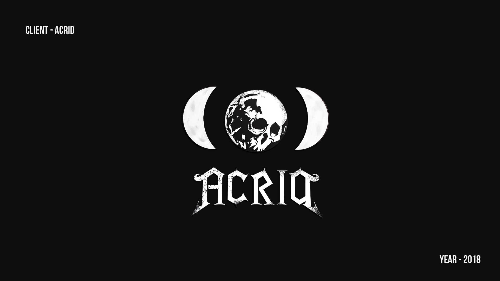 Acria studio logo projekt by evenflow studio